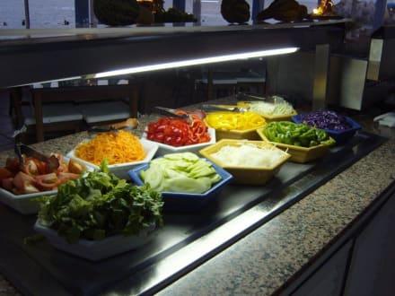 Für die Zubereitung eines grünen Salates! - Club de Mar