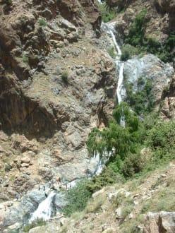 Wasserfall im Tal von Ourika - Tal von Ourika