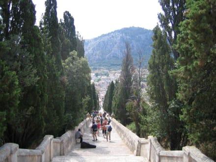 Die Treppe von Pollensa - Kalvarienberg