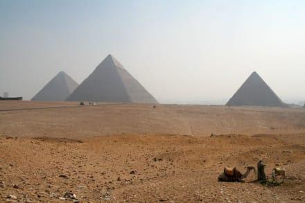 Gizeh, das Plateau von Gizeh - Pyramiden von Gizeh