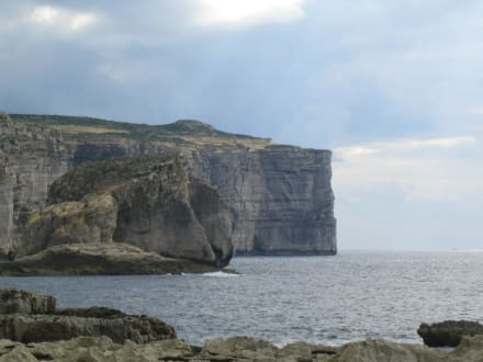 Küste Gozo - Azur Window (existiert nicht mehr)