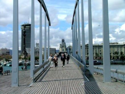 Brücke im Hafen von Barcelona - Hafen Barcelona
