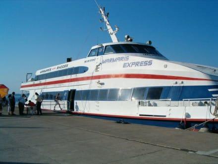 Schiff/Fähre - Yachthafen Marmaris
