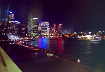 Sydney bei Nacht - Circular Quay