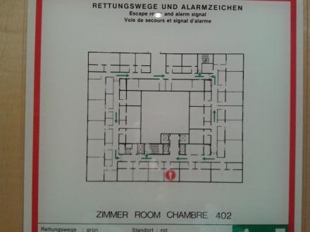Lageplan - Hotel Palace Berlin