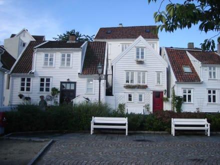 Häuserfassade - Gamle Stavanger