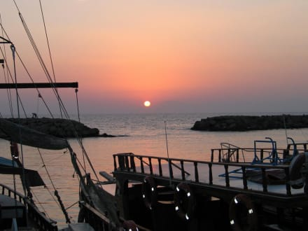 Sonnenuntergang - Hafen Side