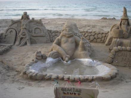 Sandfigur - Strand Can Picafort