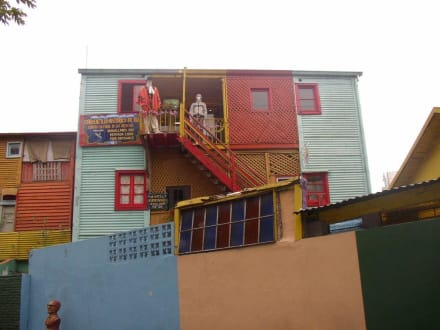 Die bunten Wellblech-Häuser in La Boca - La Boca
