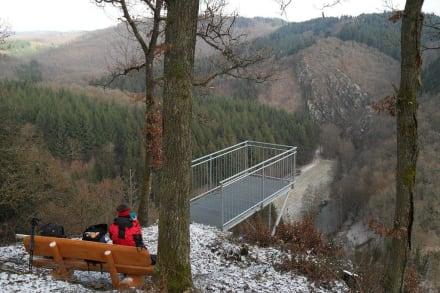 Burgblick ins Liesertal - Eifelsteig