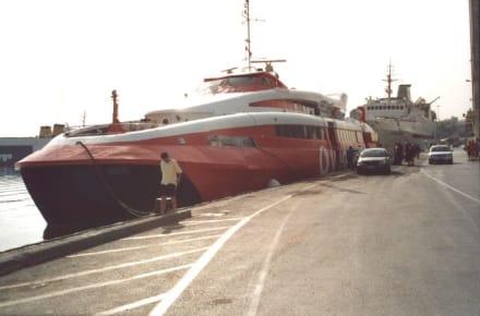 Powerboot Ausflug von Kreta nach Santorin! 1 - Insel Santorin