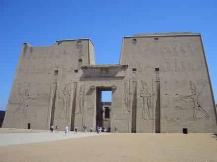Phylon Edfu Tempel - Horus Tempel Edfu