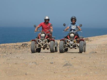 Super Tagesauflug, den ihr auch erleben müsst - Quad Tour Motor Adventure Tours Tarajalejo