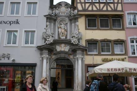 Eingang zum Kirchhof von St. Gangolf - St. Gangolf