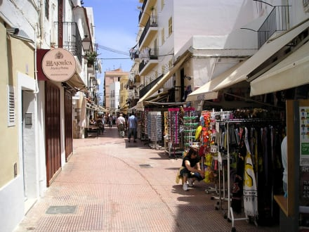 Souvenirshops in Ibiza Stadt - Altstadt Dalt Vila Ibiza