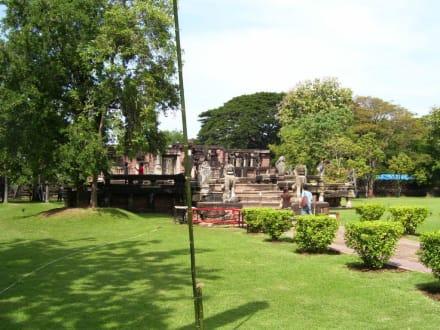 Alte Anlage - Khmer Tempel