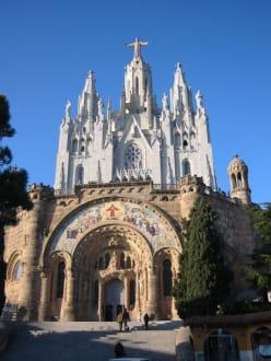 Kirche Sagrat Cor am Tibidabo - Kirche Tibidabo