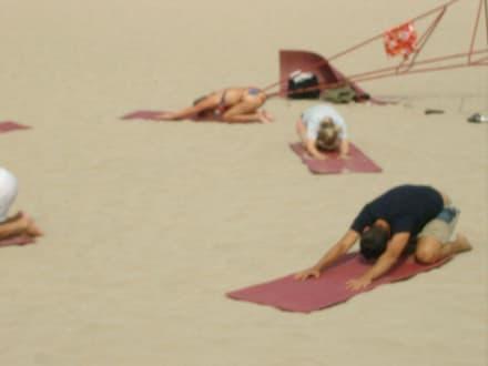Die Heiligen sind überall - Strand Paguera/Peguera