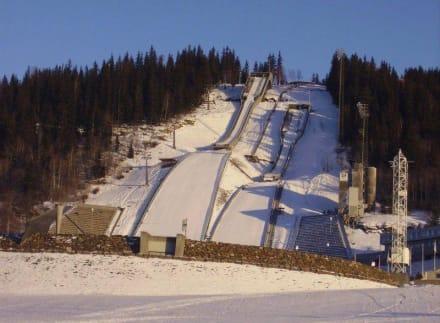 Skisprunganlage in Lillehammer - Olympiazentrum Lillehammer