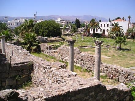 Ausgrabungsstätte in Kos-Stadt  - Ausgrabung Kos Stadt