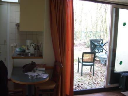 k che aussen bild center parcs de huttenheugte in dalen drenthe niederlande. Black Bedroom Furniture Sets. Home Design Ideas