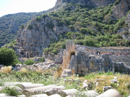 Felsengräber von Myra - Felsengräber von Myra