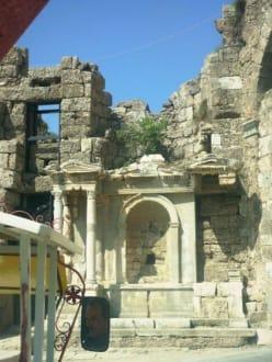 Das beste erhaltenes Amphitheater der Welt - Amphitheater in Side