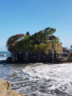 Tempel am Meer - Tempel Tanah Lot