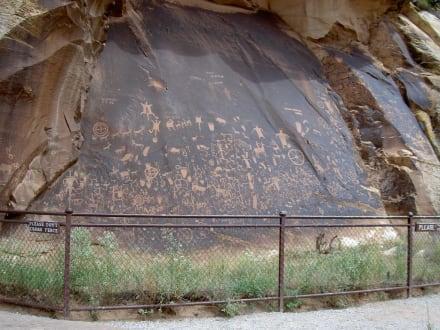 Newspaper Rock - Canyonlands Nationalpark