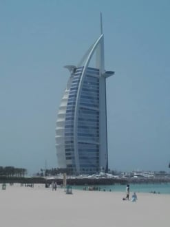 Dubai Das Einzigste 7 Sterne Hotel Der Welt Bild Burj Al Arab In Dubai