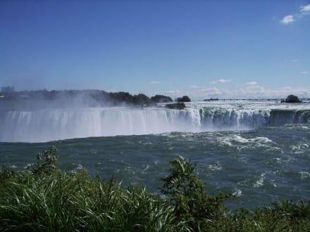 Das kanadische Hufeisen von oben gesehen - Niagarafälle / Horseshoe Falls