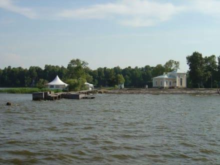 Rückfahrt zur Stadt - Palastanlage Peterhof