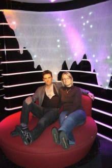 Robbie Williams im Madame Tussauds Berlin - Madame Tussauds Wachsfigurenkabinett