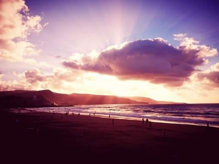 Sonnenuntergang - Playa de las Canteras
