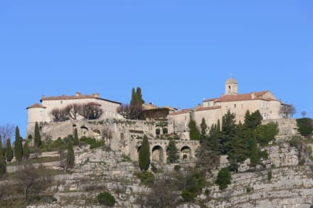 Burg - Burg Gourdon