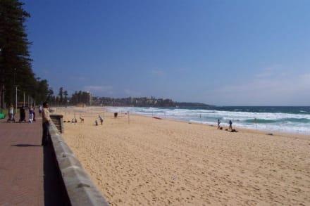 Strand und Promenade - Manly Beach
