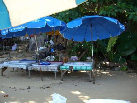 Massagen am Strand - Laem Sing Beach