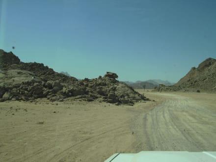 Durch die Wüste - Wüste