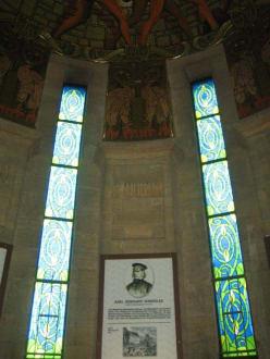 Das Innere des Denkmals. - Burschenschaftsdenkmal