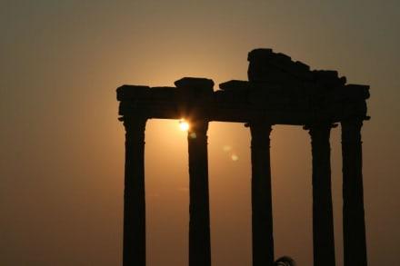 Sonnenuntergang - Apollon Tempel