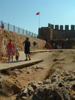 Auf der Burg - Burg von Alanya  (Ic Kale)