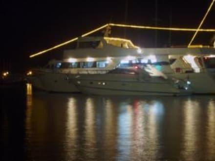 Hafen von Kato Paphos bei Nacht - Hafen Paphos