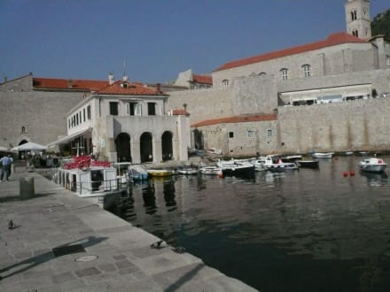 Landgang in Dubrovnik - Hafen Dubrovnik