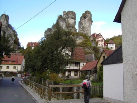 Felsendorf Tüchersfeld - Felsendorf Tüchersfeld