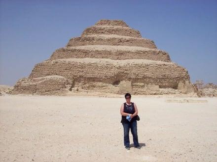 Ägypten meine grosse Leindenschaft. - Stufenpyramide / Pyramide von Djoser