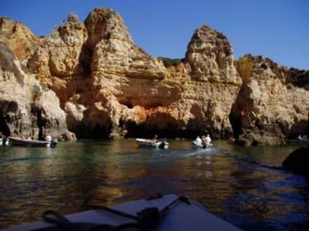 Felsgrotten westlich vor Lagos - Ponta da Piedade