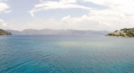 Fethiye Panorama Insel - Bootstour Fethiye