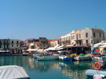 Der venezianische hafen von Rethymnon - Hafen Rethymno