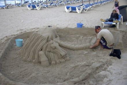 Sandkunst - Strand Can Picafort