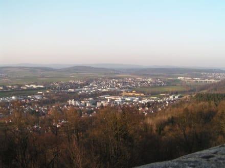 Blick von der Veste - Veste Coburg